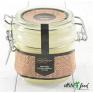 Крем-мёд таежный с маточным молочком с бугельным замком Люкс 250 гр.