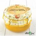 Мёд. Соты в банке, залитые медом Разнотравье луговое 300 гр.