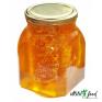 Мёд. Соты в банке, залитые медом Разнотравье луговое 940 гр.