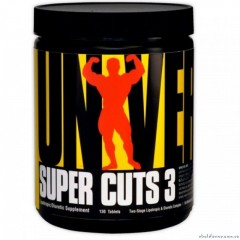 Universal Nutrition Super Cuts 3  - 130 капсул