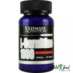 Ultimate Nutrition L-Carnitine 1000мг - 30 таблеток