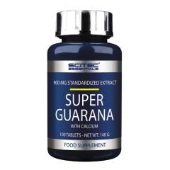 Энергетик с кальцием Scitec Nutrition Super Guarana 900 mg - 100 таблеток