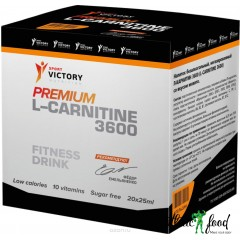 Sport Victory Nutrition Premium L-Carnitine 3600 20x25ml