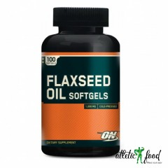 Optimum Nutrition Flaxseed Oil Softgels - 100 капсул