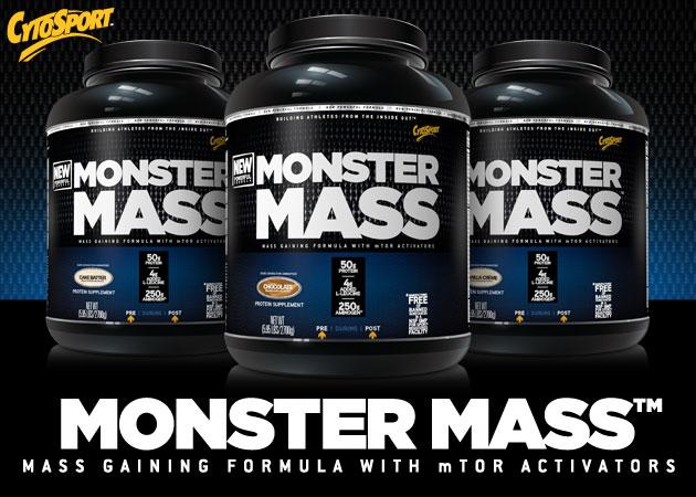 высококалорийный гейнер Monster Mass от Cytosport