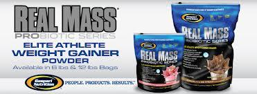 Гейнер Gaspari Nutrition Real Mass Probiotic