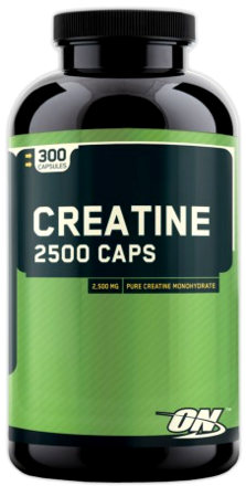Optimum Nutrition Creatine 2500 Caps 300 капсул
