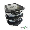 6-pack Fitness -контейнер с фиксаторами 709 мл