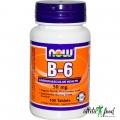 NOW B-6 (50mg) - 100 таблеток