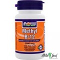 NOW Methyl B-12 (5000mcg) with Folic Acid - 60 таблеток