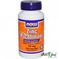 NOW Zinc Picolinate (50mg)  - 60 капсул