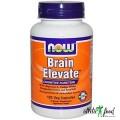 NOW Foods Brain  Elevate - 120 Vcaps (СРОК)