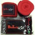 BioTech Кистевые бинты Bedford 2 - красные