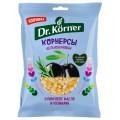 Dr.Korner Чипсы цельнозерновые кукурузно-рисовые с оливковым маслом и розмарином - 50 грамм