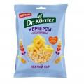 Dr.Korner Чипсы цельнозерновые кукурузно-рисовые с сыром - 50 грамм